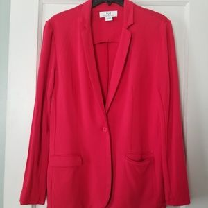 Red blazer size l